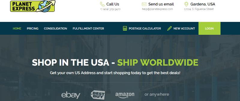 Planet express Website