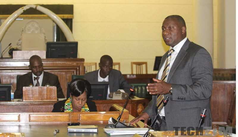 Supa in parliament