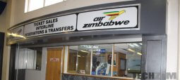 Air Zimbabwe reception