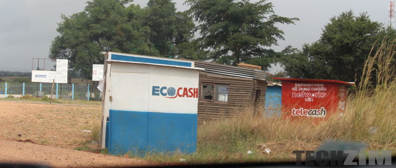 EcoCash and telecash stands