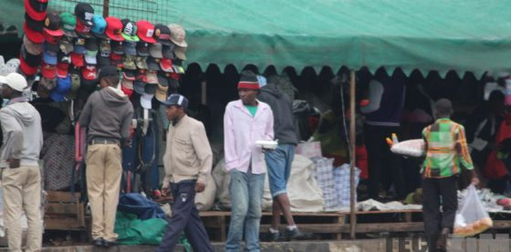 Informal Market in Harare