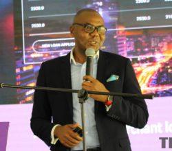 Steward Bank CEO, Lance Mambondiani at the launch of Kwenga