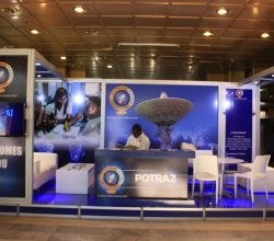 POTRAZ exhibition booth