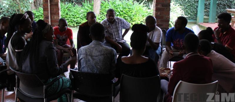 Harare Facebook Developer Circle Members Discussing