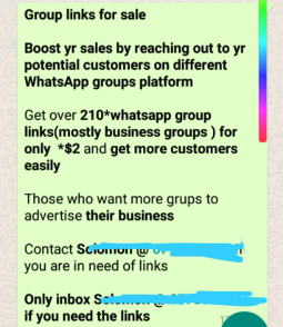 WhatsApp Group Links Are Now For Sale To Businesses Wanting To