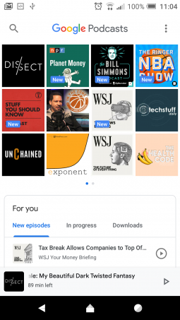 Google Introduces Podcasts App: Clean But A Bit Too Simple