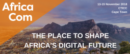 AfricaCom 2018 Banner