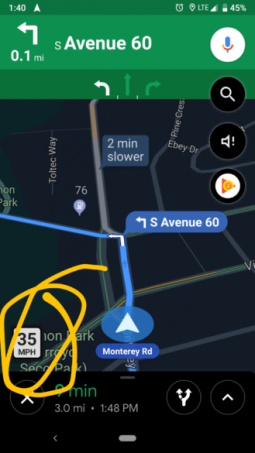 Google Maps Reintroduces The 'Speed Limit' Feature That Lets You