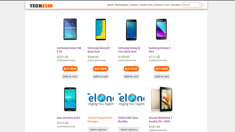 6 Phones Under US$140 You Can Buy In The Techzim Store Right