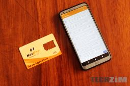 NetOne line and sim card