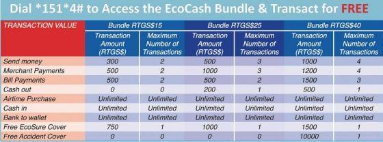 EcoCash Announces New Bundles Allowing