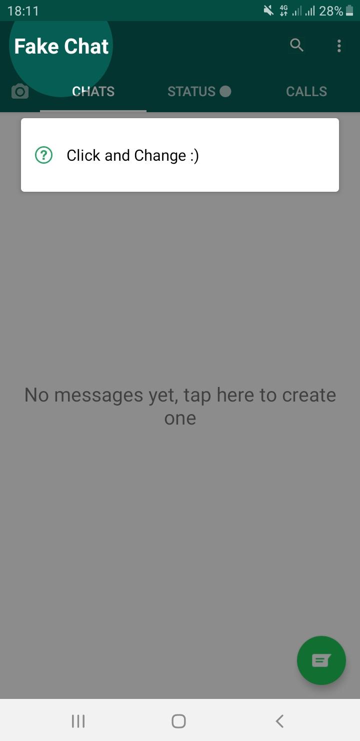 Whatsapp foto fake app