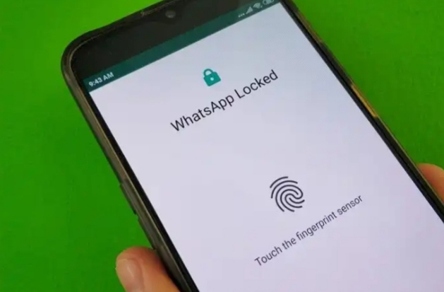 Image result for fingerprint lock Android