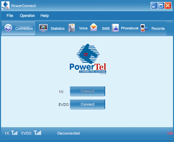 PowerConnect Dialog