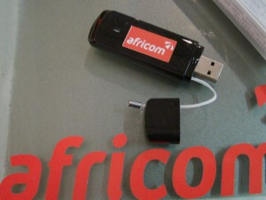 The Africom Mobile Broadband Dongle
