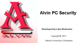 Luke Madzdze's Alvin PC Security