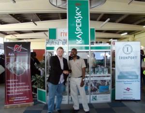 Axis Solutions CEO Brian Mukudzavhu