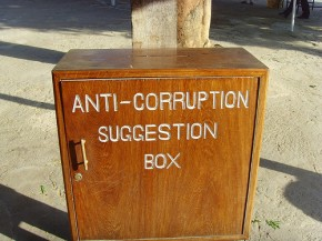 anti-corruption suggestion box