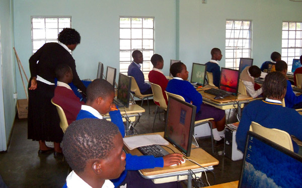 Dzikwa Trust - Computer Class