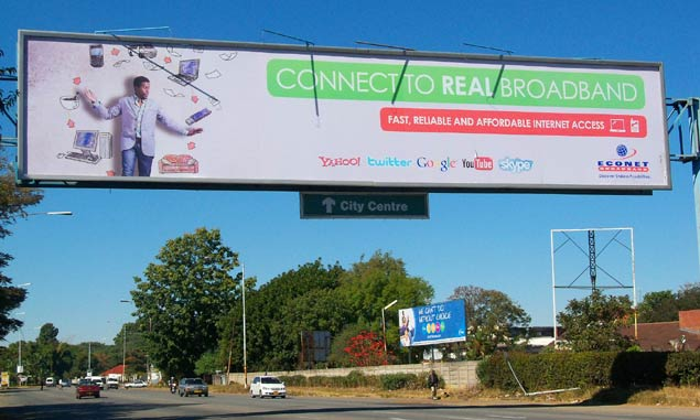 Econet Broadband Billboard
