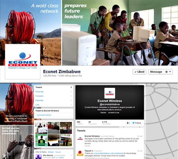 Econet Facebook page