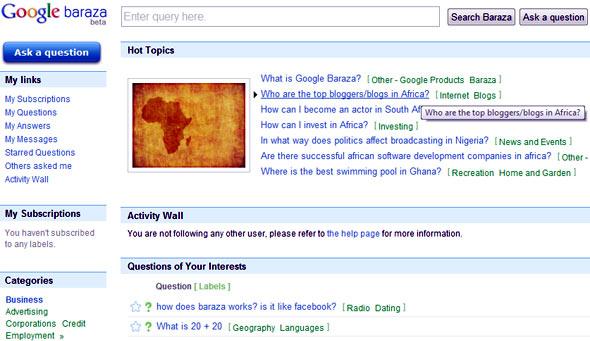 Google Baraza