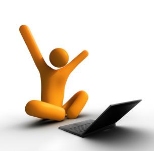 Happy Web User