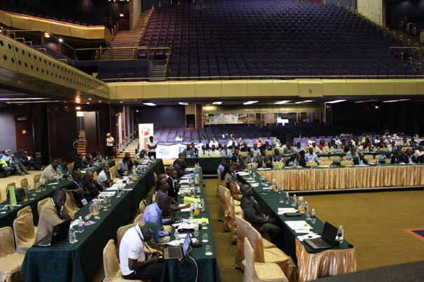 Participants at e-Tech Africa