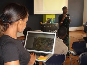 Mapping in Kenya