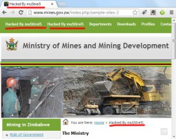 Ministry of Mines and Mining Development website