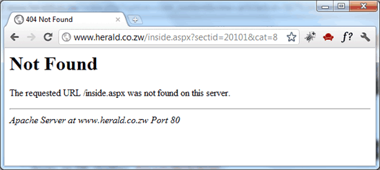 Old Herald 404