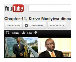 Strive Masiyiwa, Econet, on YouTube