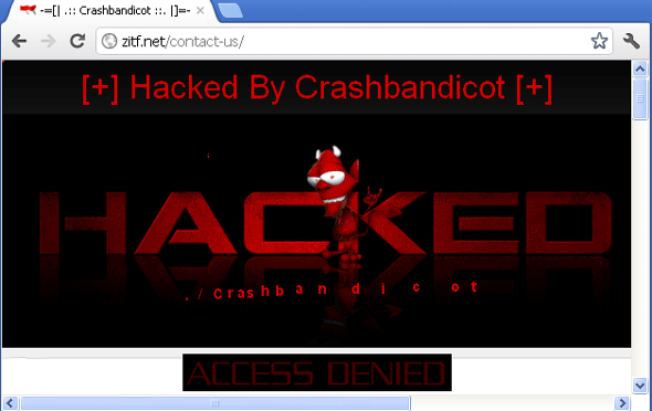 Zimbabwe International Trade Fair - Hacked