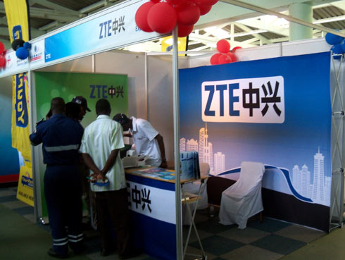 ZTE stand
